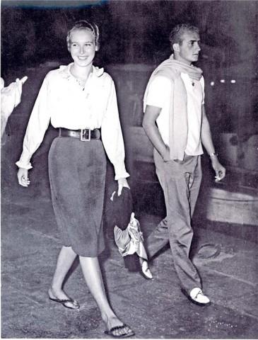 Don Juan Carlos y Maria Gabriella de Saboya