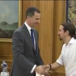 felipe VI Pablo Iglesias