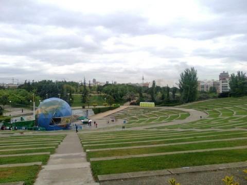 parque enrique tierno madrid