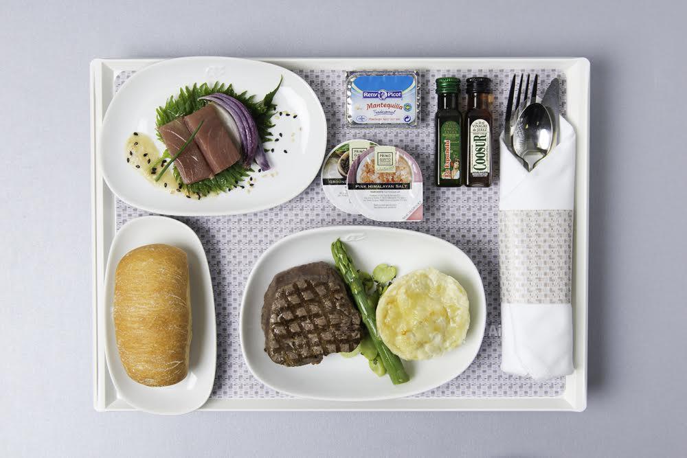 Menus de a bordoNewrest para Air Europa.