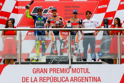 podium argentina