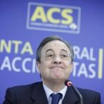 Junta General de accionistas de ACS en IFEMA. Florentino Perez.  15  de Abril de 2010.  Antonio M. Xoubanova.