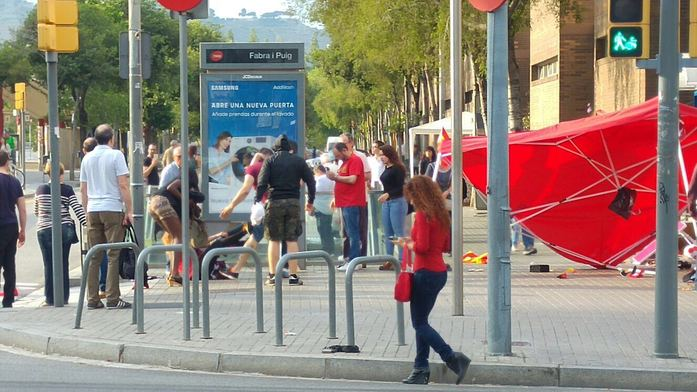 agresion barcelona