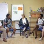 """CIFUENTES VISITA EL CENTRO MATERNAL """"RESIDENCIA NORTE"""", QUE ATIENDE A MUJERES MENORES DE 25 AÑOS EMBARAZADAS O CON HIJOS EN SITUACIÓN DE VULNERABILIDAD SOCIALLa presidenta de la Comunidad de Madrid, Cristina Cifuentes, visita el centro maternal """"Residencia Norte"""", que presta atención a mujeres menores de 25 años embarazadas o con hijos a su cargo que se encuentran en situación de vulnerabilidad social. Se trata de un centro maternal único, ya que atiende a mujeres tanto mayores como menores de edad con el objetivo de dar a estas jóvenes la oportunidad de vivir con sus hijos, prestándoles una función educativa y de apoyo en los primeros años de crianza y fomentando sus procesos de aprendizaje con respecto a la maternidad y el desarrollo de proyectos para su futura autonomía personalFoto: D.Sinova / Comunidad de Madrid"""