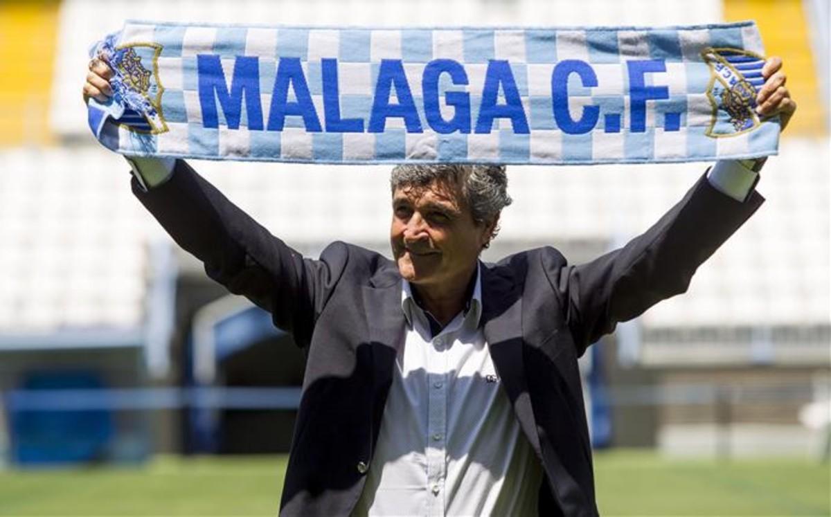 Retorno de Juande Ramos al Málaga CF