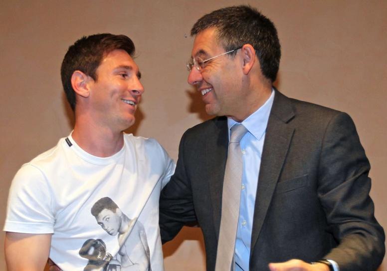 La renovación de Messi, otro cisma entre la directiva y la ...