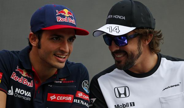 Resultado de imagen de McLaren-Renault-Red Bull Fernando Alonso Carlos Sainz