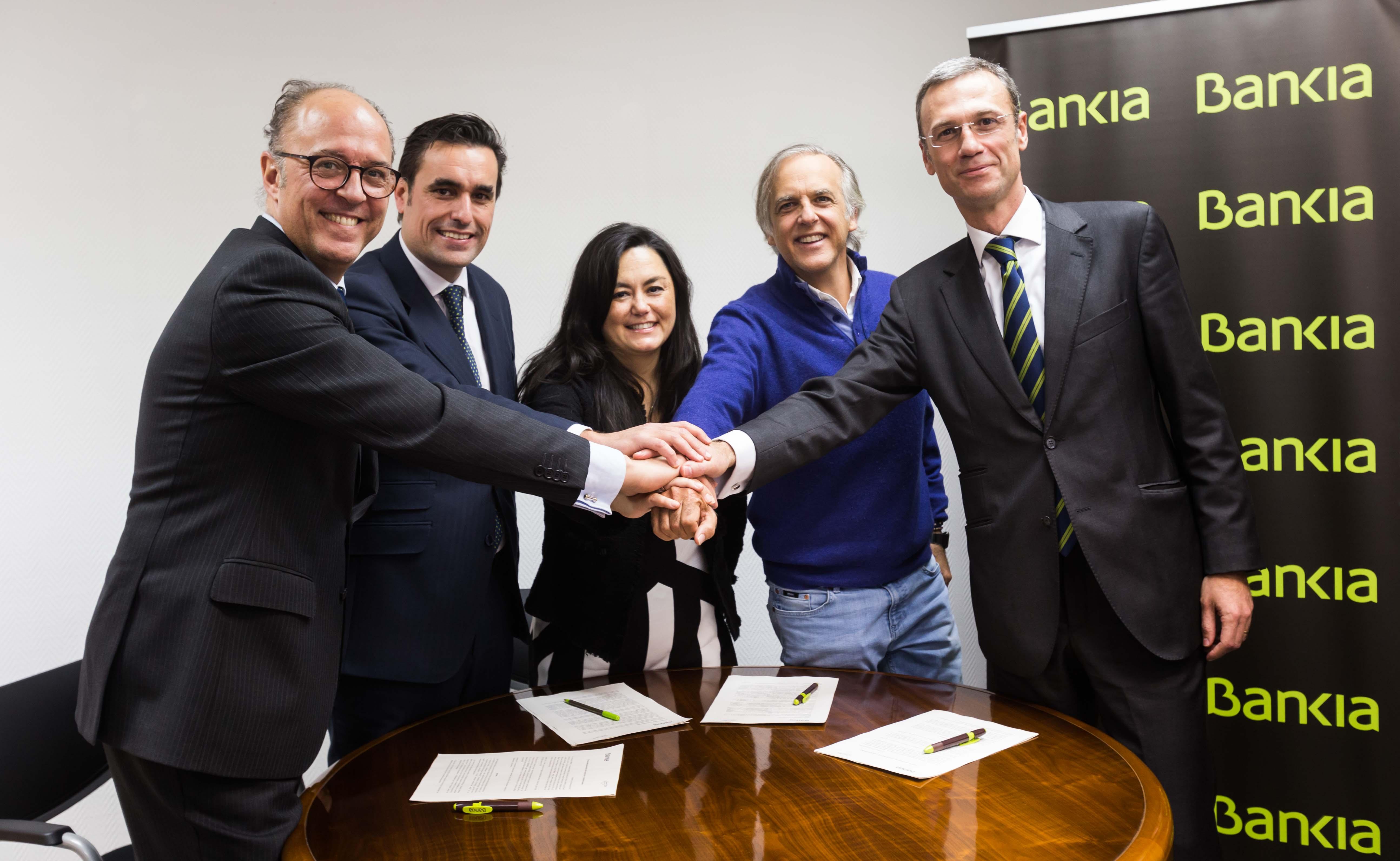 Firma Bankia-Fundación Aladina