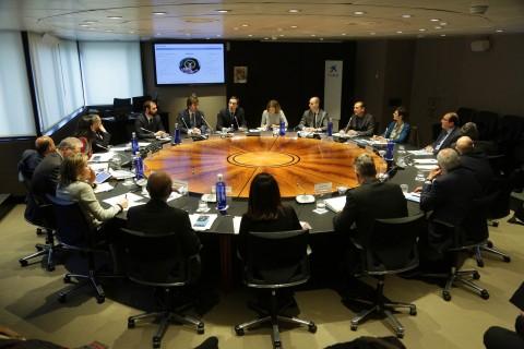 16.02.2017, Barcelona Reunió del Comitè Consultiu de CaixaBank amb el sr Gonzalo Gortázar.  foto: Jordi Play