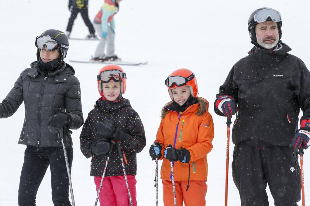 felipe vi esquiar
