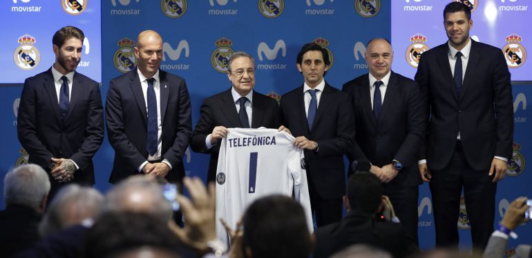telefonica real madrid