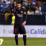 Messi derrota malaga
