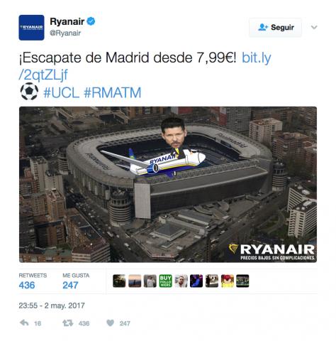 Ryanair Simeone