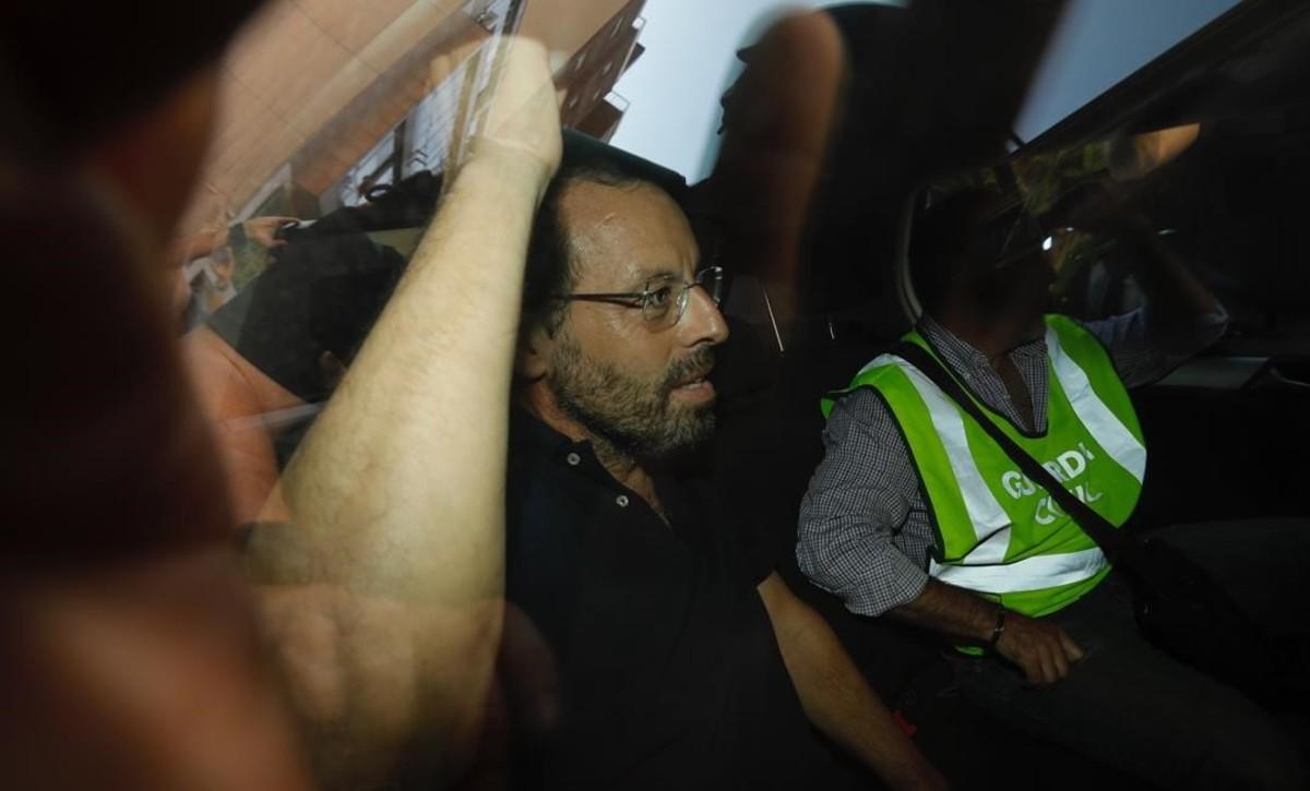 Barcelona 23 05 2017 detencion del expresidente del Barca  Sandro Rosell Foto Ferran Nadeu