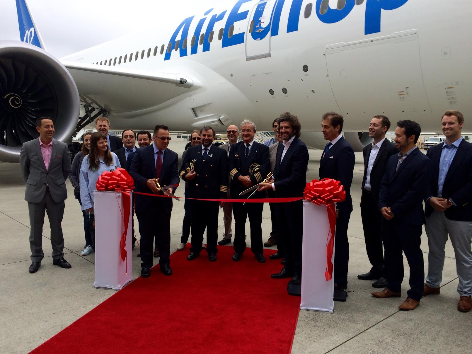 dreamliner air europa