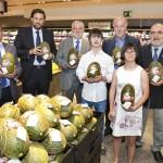 El Corte Inglés presenta Melón Solidario en Castellana