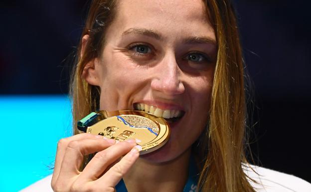 mrireia medalla oro