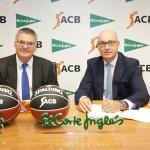 Francisco Roca (ACB) y Jesús Nuño de la Rosa (El Corte Inglés)