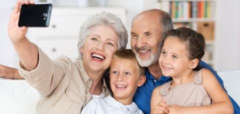 Nietos y abuelos