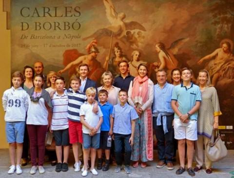 Los Borbón-Dos Sicilias en Barcelona