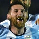 Messi feliz