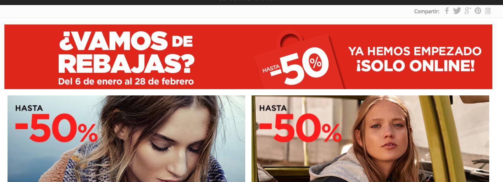 El Corte Inglés Adelanta Al Día De Reyes Las Rebajas Online Con Descuentos Del 50 Extraconfidencial