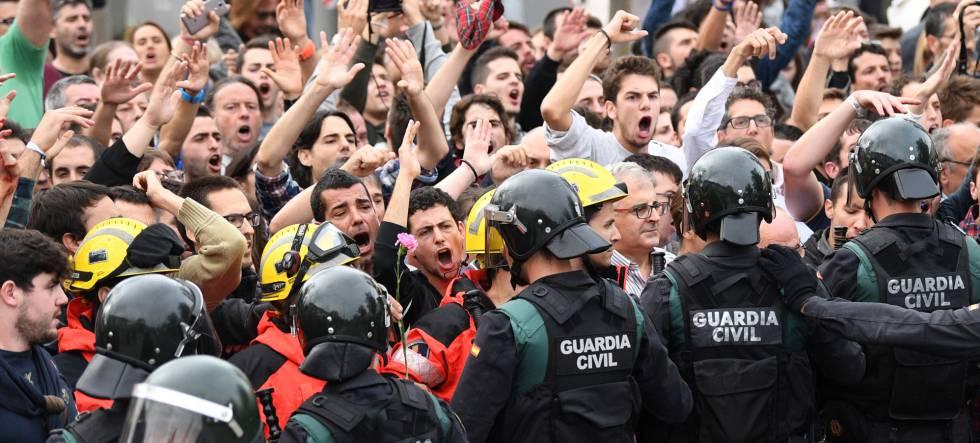 agresiones guardia civil
